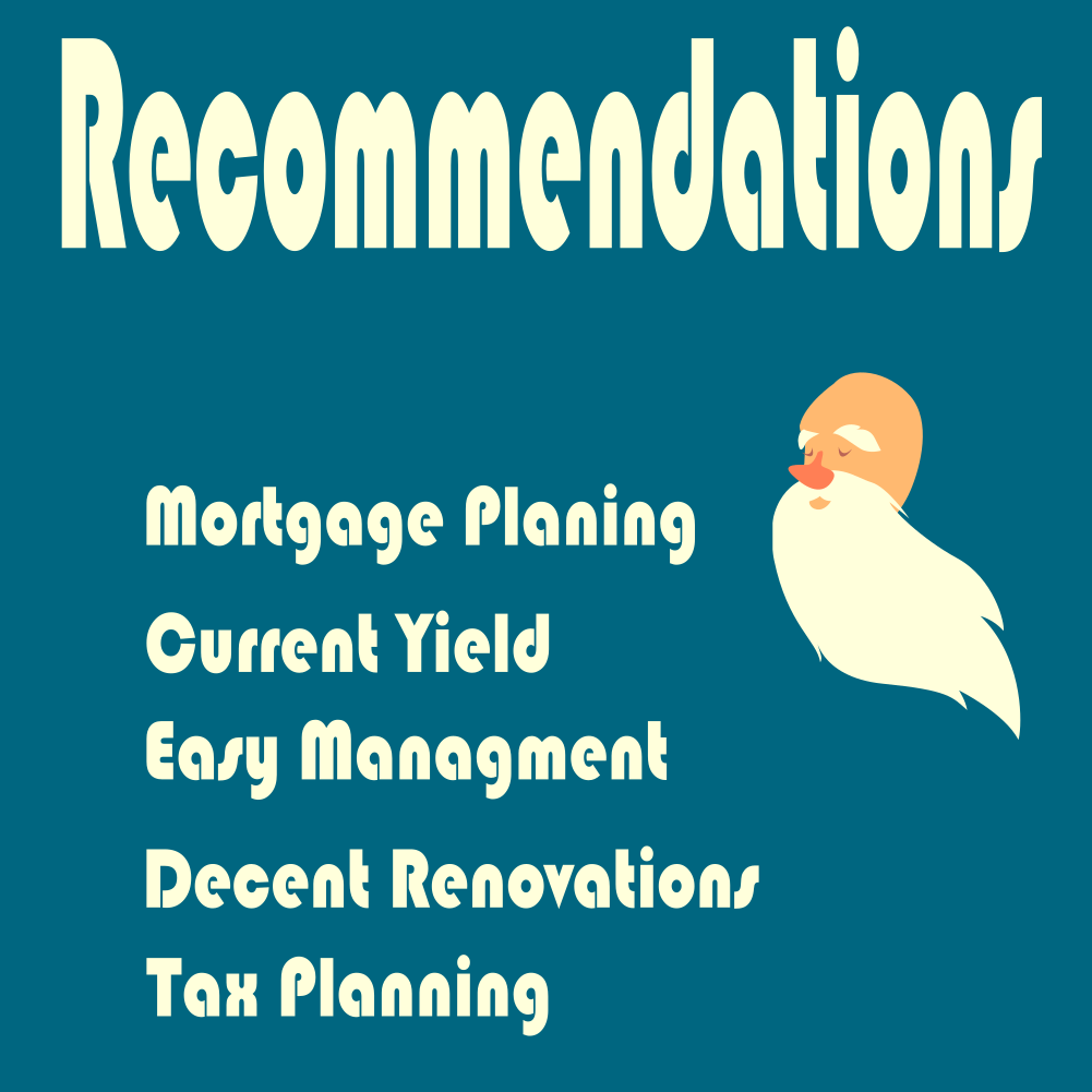 Recommendations regarding investing in real estate for your retirement